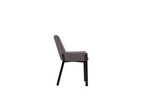 Cool Dining Chair Benson Dark Grey Side Chairs Mobital Machost Co Dining Chair Design Ideas Machostcouk