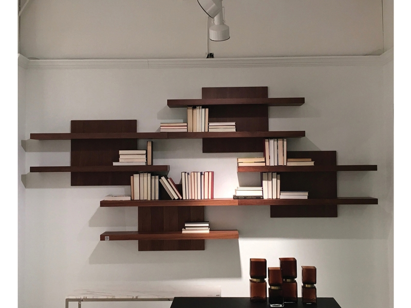884 wall unit cargo shelf unit natural walnut ProduitCatID=40