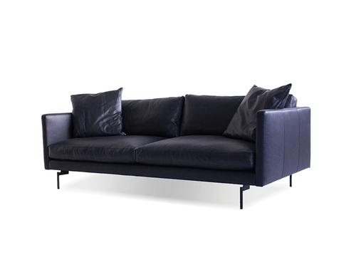 Pleasing Leather Sofa Tux Black Sofas Mobital Caraccident5 Cool Chair Designs And Ideas Caraccident5Info